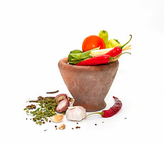 Spices,herbs,food and cuisine ingredients backgrou…