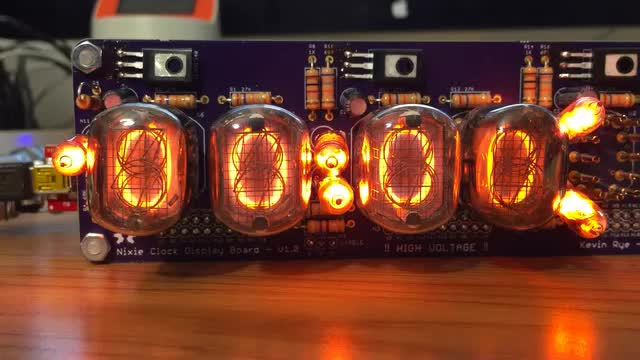 Nixie Clock 0 to 9