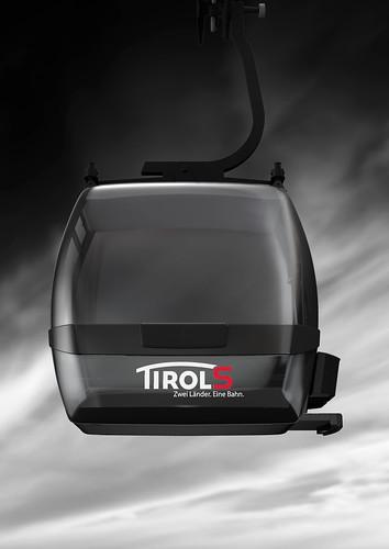 Vizualizace kabinky TirolS