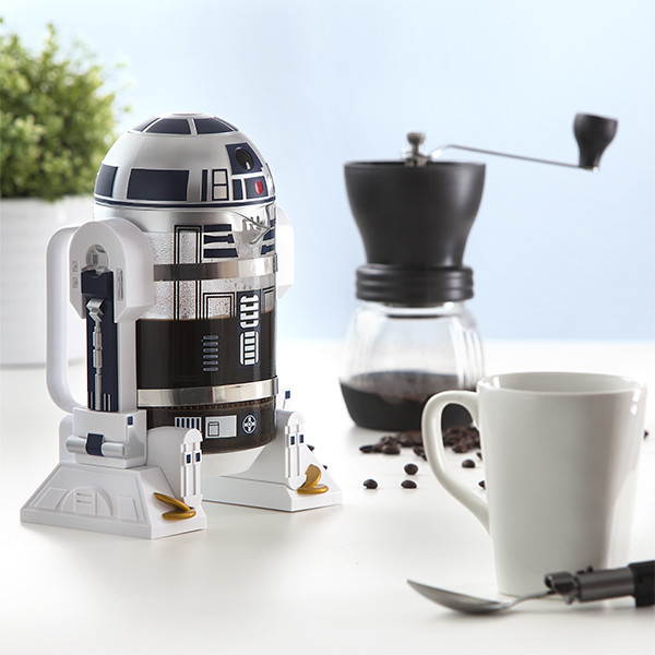 ThinkGeek【R2-D2 咖啡濾壓壺】R2-D2 Coffee Press 高智能機器人來幫各位泡咖啡囉!!