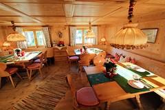 Frühstücksraum im Gattererhof