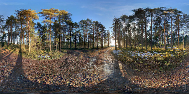 Near Skrim Idrettspark (Kongsberg, Norway) 360x180 degrees-3556