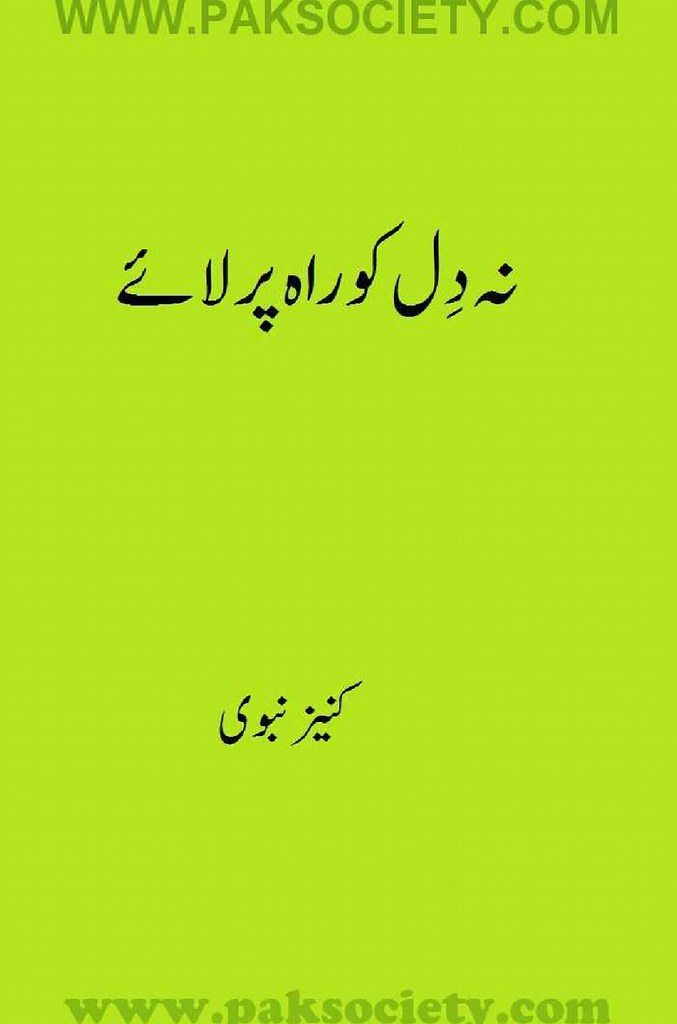 Na Dil Ko Rah Per Laae is a very well written complex script novel which depicts normal emotions and behaviour of human like love hate greed power and fear, writen by Kaneez Nabvi , Kaneez Nabvi is a very famous and popular specialy among female readers