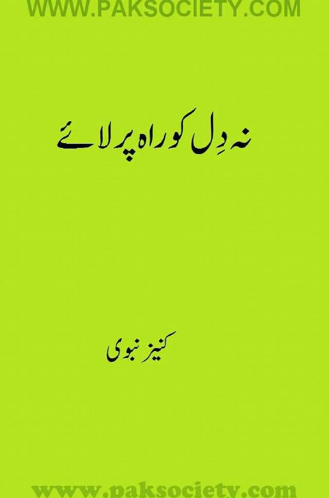 Na Dil Ko Rah Per Laae Complete Novel By Kaneez Nabvi