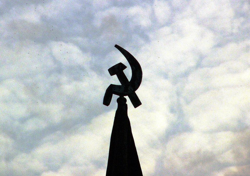 Soviet Era Monument (Hammer and Sickle) - Panasonic DMC-FZ10