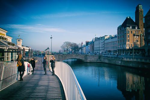 bagersbro blue malmö himmel architecture buildings sky sweden bridge skånelän sverige se