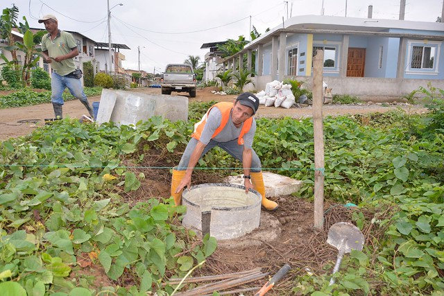 Aguas del Chuno realiza trabajos en sector Los Citrus
