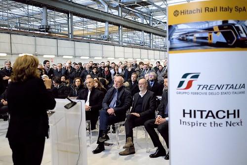 Hitachi: presentato il nuovo treno Rock