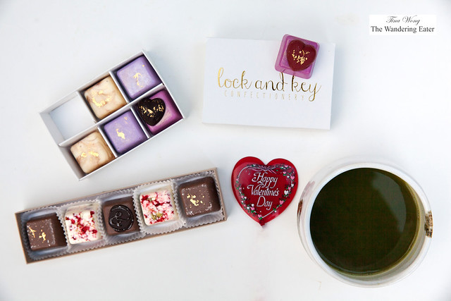 Valentine's Day chocolates - Crazy Love and I & LOVE & YOU