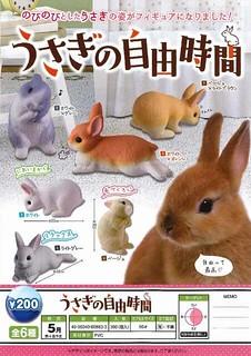 小兔子們,放風啦!!EPOCH【兔子的自由時間】うさぎの自由時間
