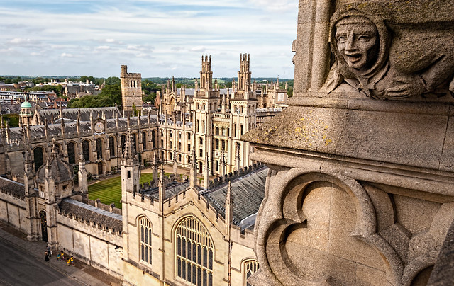 Header of All Souls College, Oxford