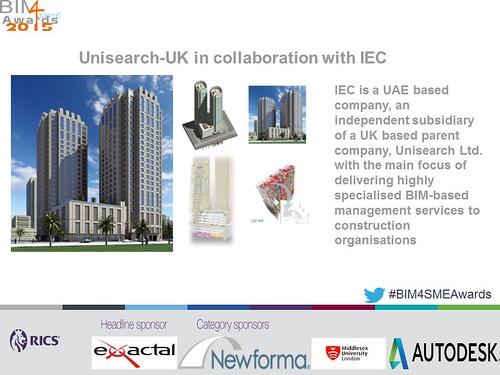 Winner Best SME Engagement and Support Programme BIM4SMEawards