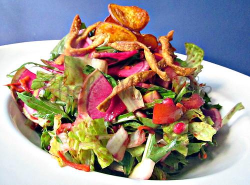 Mizuna Salad -edit