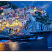 Manarola Blue Hour by jeannie'spix