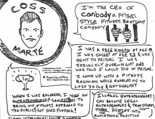 Civic Hall Toons #1: Coss Marte