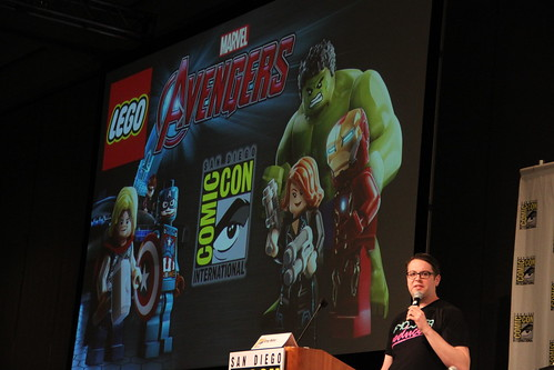 LEGO Marvel's Avengers SDCC 2015 Panel