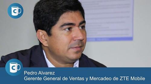 Pedro Alvarez, Gerente Senior General de Ventas y Mercadeo de ZTE Venezuela