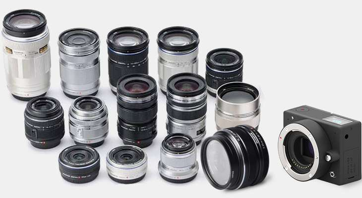 E1 4K : La plus petite caméra d'action Micro 4/3 à objectifs intercheables au monde