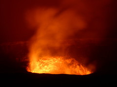 types of volcanic eruptions, lava, fire, flame, volcanic landform,