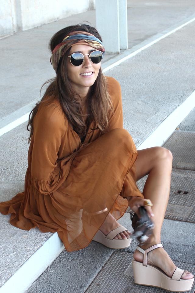 boho summer dress coohuco 2