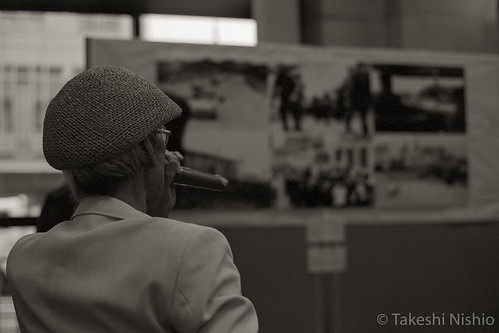 Katsu Moriguchi's gallery talk