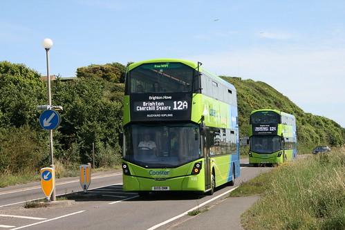 Brighton & Hove 935 (Route 12A) & 937 (Route 12X), Bishopstone