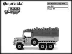 Lkw Magirus M206 de Panzerbricks