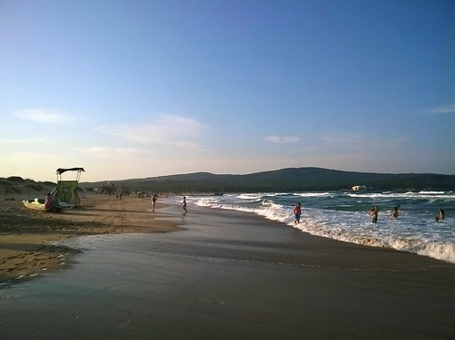 sea summer people holiday beach water landscape sand waves view blacksea primorsko