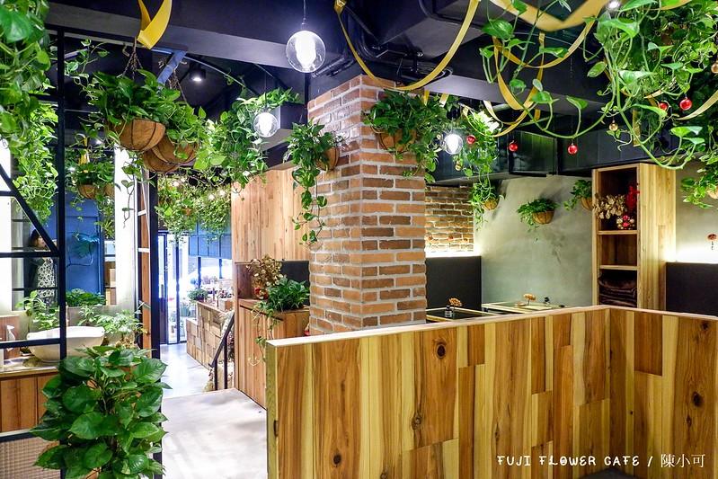 FUJI FLOWER CAFE【台北咖啡館】FUJI FLOWER CAFE,花店 咖啡館 果汁 輕食,漂亮空間適合拍照喝下午茶(捷運市政府站)
