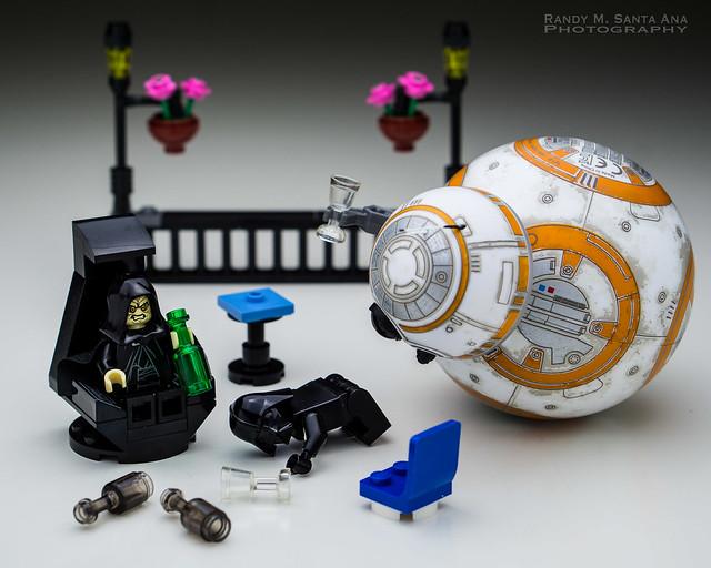 BB-8 : T.G.I.F.  Drink Moderately!