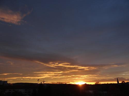 Sonnenaufgang Dämmrung Herz und Sinne 260