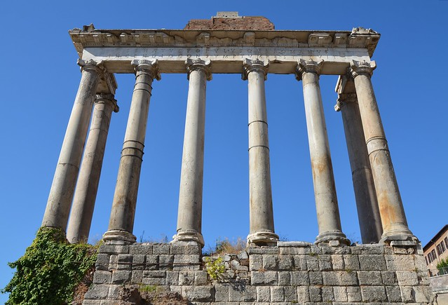 Temple of Saturn, Roman Forum, Rome