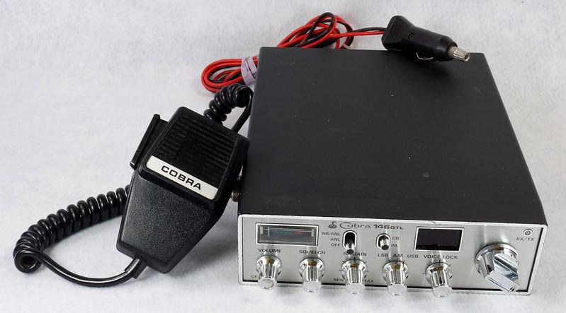 RD15026 Vintage Cobra 146 GTL AM SSB CB Radio DSC07753
