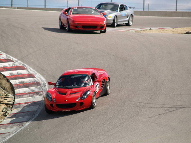 Traffic jam at the Corkscrew