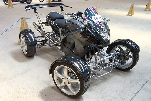 Suzuki Hayabusa Quad Bike