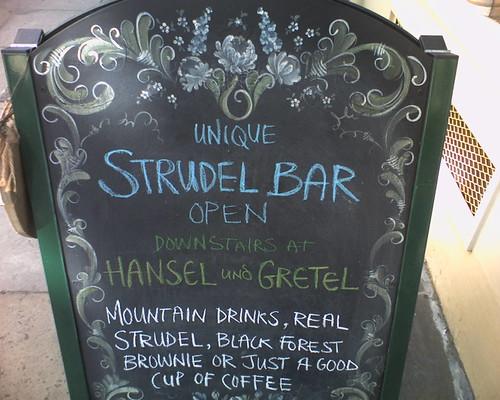 Strudel Bar