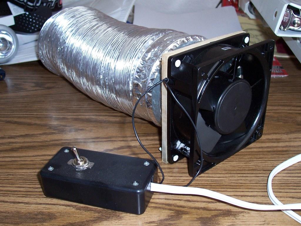 Small Exhaust Fume Fans : Rv refrigerator vent fan