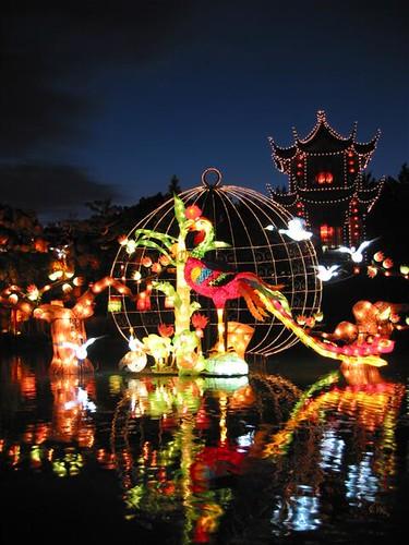 photo du jour lanternes chinoises au jardin botanique spacing montreal. Black Bedroom Furniture Sets. Home Design Ideas