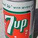 7UP Soda Can, 1960's