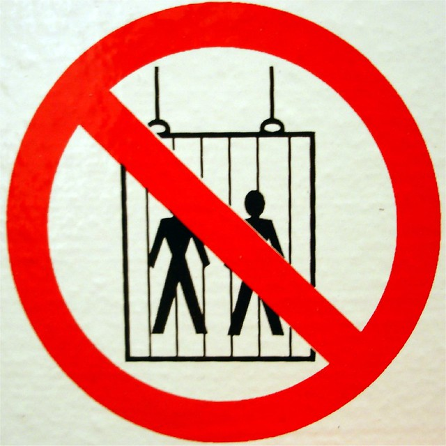 Do Not Use the Lift