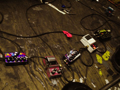 Effect Pedals of J Mascis