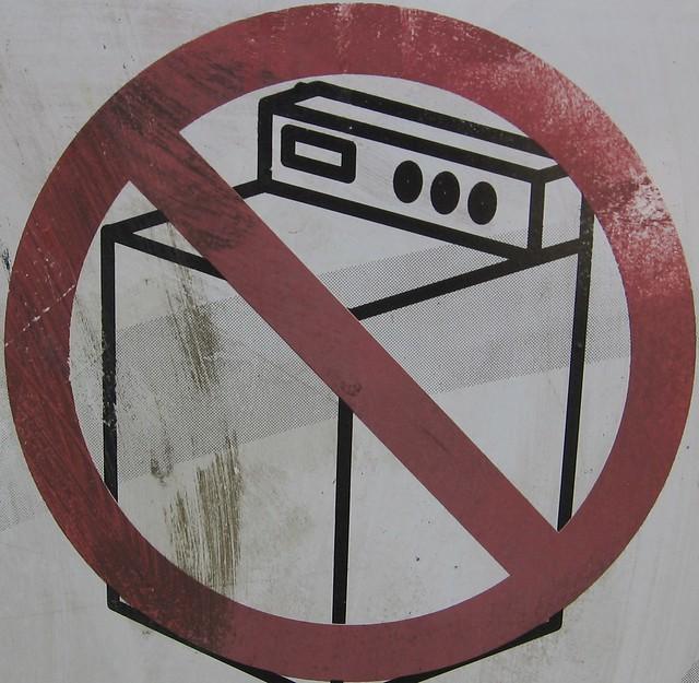 no washing machine