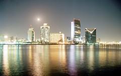 Night at Dubai creek (2) - Nacht an Dubais Lagune (2)