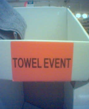 towel event!