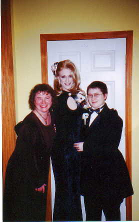 Me, mom, and Butterfly, pre-drag prom