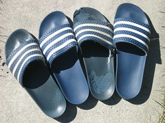 outdoor shoe(0.0), shoe(0.0), limb(0.0), leg(0.0), footwear(1.0), cobalt blue(1.0), slipper(1.0), blue(1.0),