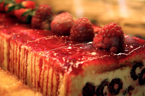 Photo:raspberry cake By:jonrawlinson