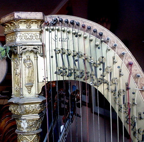 antique Harp Paris 2005