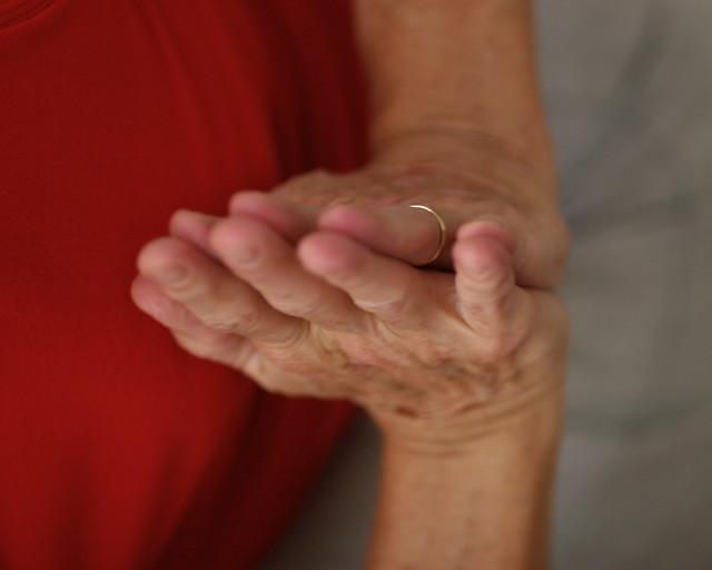 Anne's hands