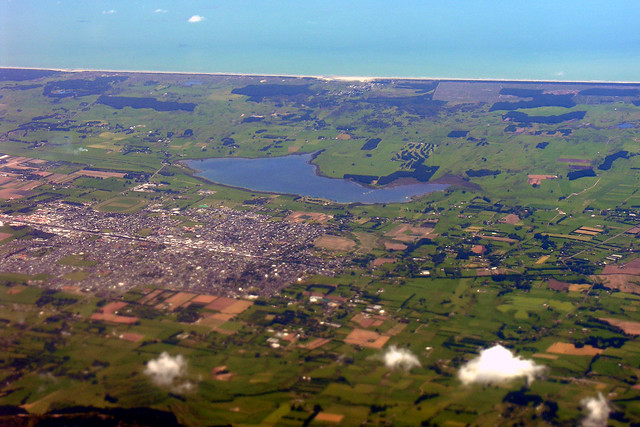 Levin New Zealand  city photos gallery : Levin and Lake Horowhenua, New Zealand, 26 October 2005 | Flickr ...